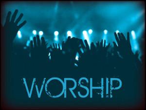 Christian Graphic: Worship Papel de Parede Imagem