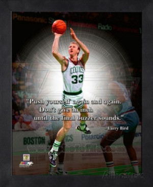 Larry Bird ProQuote Framed Memorabilia