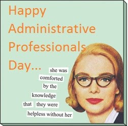 Honoring Office Professionals on Administrative Professionals Day!