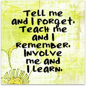Kinesthetic learners- this is one of my learning styles.
