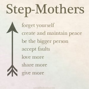 Step Mothers Day Quotes