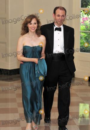 Austan Goolsbee Chairman Council of Economic Advisors and his wife