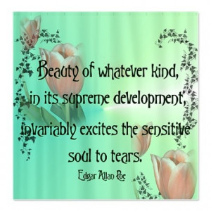 Edgar allan poe, quotes, sayings, beauty, soul, tears