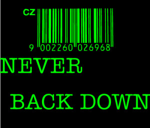 NEVER love BACK DOWN cr par BACK DOWN