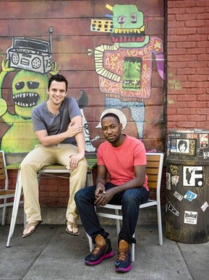 Lamorne Morris and Jake Johnson...