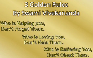golden rule for life