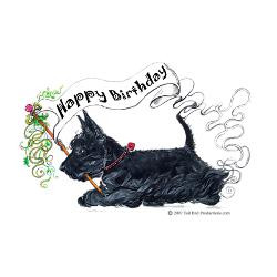 scottish_terrier_birthday_dog_greeting_card.jpg?height=250&width=250 ...