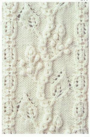Lace Knitting Stitch #70