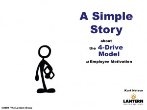 Drives A Simple Story About Motivating Employees