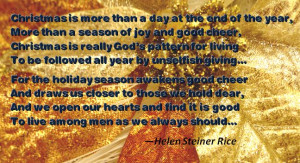 quotes that bring out the true meaning of Christmas. Enjoy the quotes ...