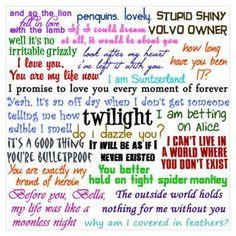 Twilight Saga Quotes And Sayings Twilight quotes and sayings
