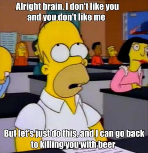 Funny Simpsons Quotes Simpsons quote... funny