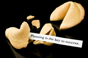 planning is key to success