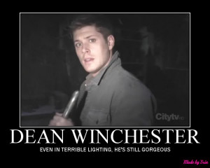 SUPERNATURAL DEAN WINCHESTER GHOSTFACERS Image