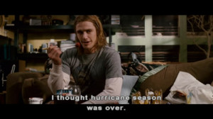 thought hurricane season was over.