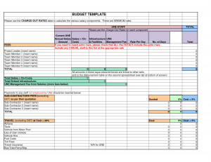 Catering Quotation Template - Excel