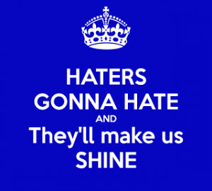 Music to My Ears Monday: Haters Will Be Haters