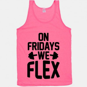 On Fridays We Flex #fitness #workout #style #gym #flex #friday #pink # ...