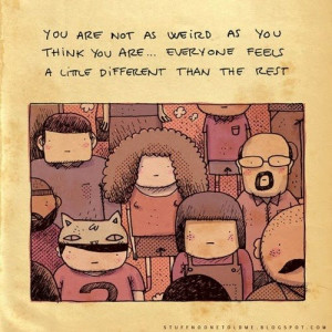it's okay to be different ♪♫