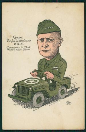 General Eisenhower General eisenhower postcard on