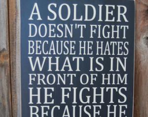 Patriotic Military Background