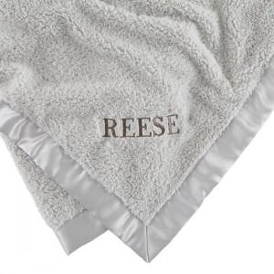 Cuddle Me Softly Baby Blanket (Grey)