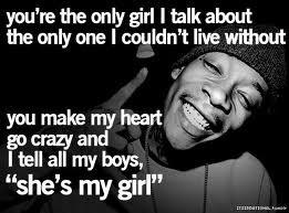 She's my girl!