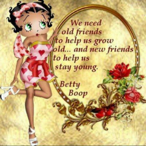 friends are the best new or old.