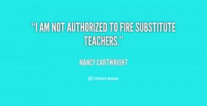 Substitute Teacher Quotes