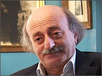 Druze Leader Walid Jumblatt At His Ancestral Home In The Chouf picture