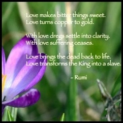 to my Rumi's Love Quotes Lens. Jalaluddin Rumi (Jalal ad-Din Rumi ...