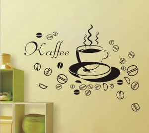 Free shipping Relax Coffee Time Carving Quotes Living Room Vinyl Art ...