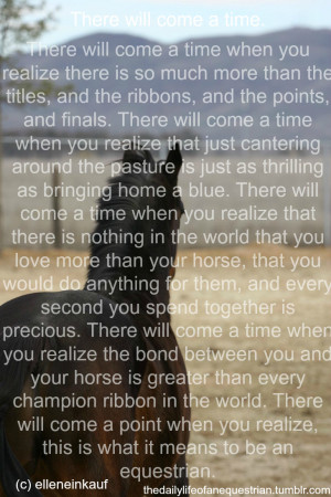 Horse Quotes And Sayings For Girls Horse quote tumblr picture