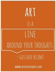klimt # quotes more classroom quotes art quotes gustav klimt quotes ...