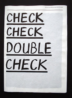 Double Work≠Double Check