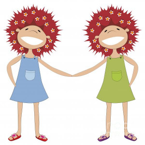 File Name : sisters-holding-hands-richard-laschon.jpg Resolution : 600 ...