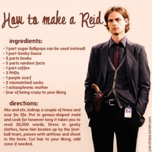 Quotes From Criminal Minds Reid ~ How to make a REID - Dr. Spencer ...