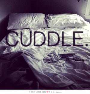 Cuddle Quotes