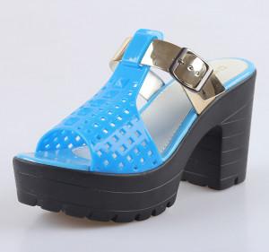 2015 A la moda con tacones sandalias mujer Melisa zapatos mujer sexy ...