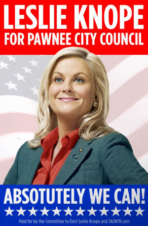 ... Post: 17 Reasons Leslie Knope Is The Best Feminist Role Model On TV