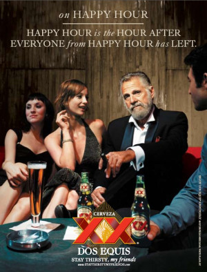 Rhetorical Analysis of The Most Interesting Man in the World