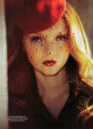 lily cole again.
