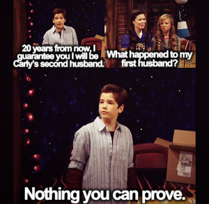 Funny iCarly Moments…Part 1Never knew Freddie was so violent… Lmao ...