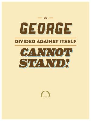 Seinfeld quotes typography