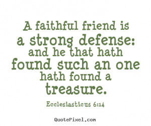Strong Defense quote #2