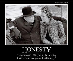 Winston Churchill on Honesty