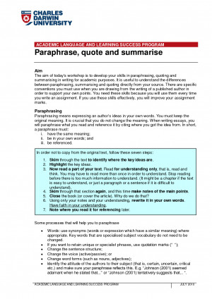 Paraphrase quote and summarise ACADEMIC LANGUAGE AND LEARNING by ...