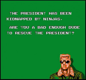 Bad Dudes (Data East, 1988)
