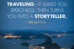 Travel Quote of the Week: On the Stories of Travel