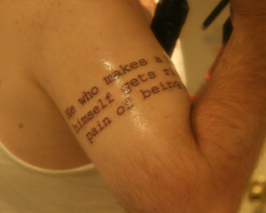 Arm Tattoo Quotes For Men